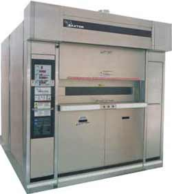 Baxter Ov851g Revolving Gas Oven 18 Tray Used Used