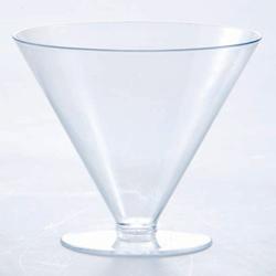 Martellato Round Champagne-Shape Dessert Cup, 100 Pieces