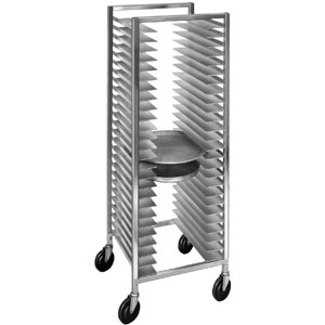 Channel Pizza Tray Rack Aluminum Holds 26 Pans 22 X 20
