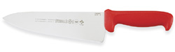 Mundial Cook's Knife 8 Blade, Red Handle