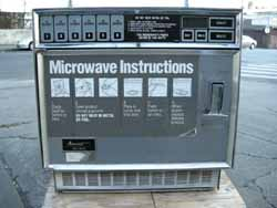 Amana Rc16se Commercial Microwave Oven Used