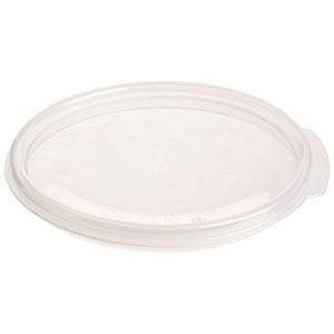 Cambro RFS2SCPP190 Round Sealing Lid for 2 & 4 qt. - Bluish Clear