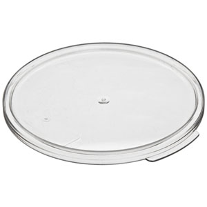 Cambro RFS6SCPP190 Round Sealing Lid for 6 & 8 qt. - Bluish Clear