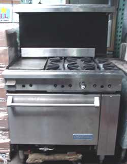 Imperial Commercial 6 Burner Gas Range Imperial Ir 6 Used Used Equipment We Have Sold Bakedeco Com