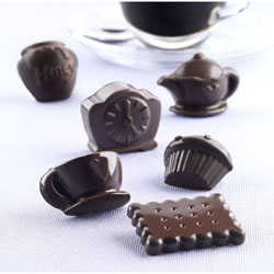 Silikomart Silicone Chocolate Mold: Tea Pot Set