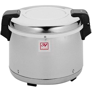 Commercial Stainless Steel Electrical Rice Warmer 30-Cup (17 L)