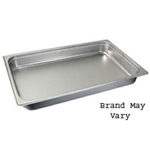 Steam-Table Pan, Stainless, Full Size (12-3/4 x 20-3/4)