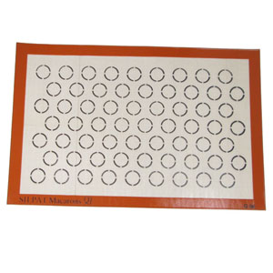 Demarle Macaroon Silpat 15 x 23 with 63 Circles 35mm