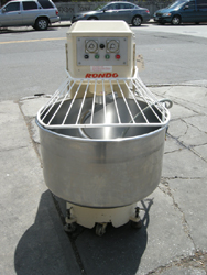 Spiral mixer used