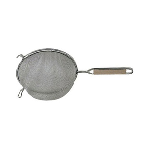 Update International Stainless Steel Strainer, Single, 4-3/4 Diameter