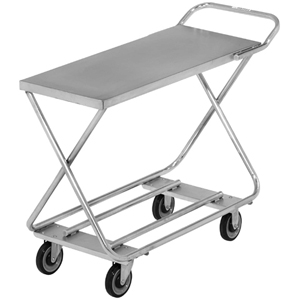 Channel Marking / Stocking Truck Galvanized Construction 19 x 46 D x 34, WITH HANDLE