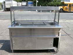 Custom Made Salad Bar Used Excellent Condition