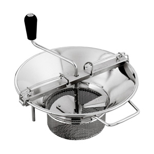 L. Tellier Mouli Food Mill (Tomato Strainer / Crusher) # X5, S/S, 8 Qt. Capacity