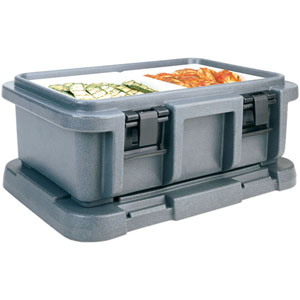 Cambro UPC160 Insulated Food-Pan Carrier: Holds One Full-Size 6'' Deep Pan