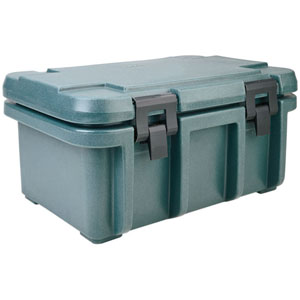 Cambro UPC180 Insulated Food-Pan Carrier: Holds One Full-Size 8'' Deep Pan