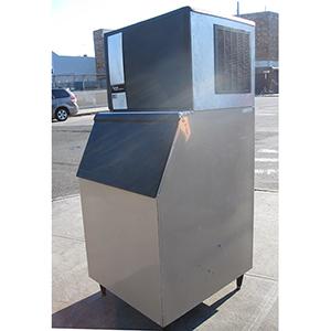 Used Ice Machine >> Ice O Matic Ice Maker Model Ice0500ha3 With Ice Bin Used Good