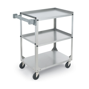 Vollrath Stainless Steel Utility Cart, 30-7/8 L x 17-3/4 W x 33-3/4 H