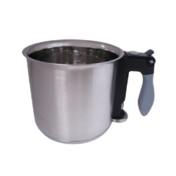 de Buyer Stainless Steel Bain Marie Cooker, 16 cm/ 1.5 Liter