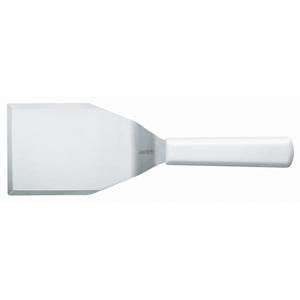 Mundial Steak & Hamburger Turner 5 x 4; White Handle