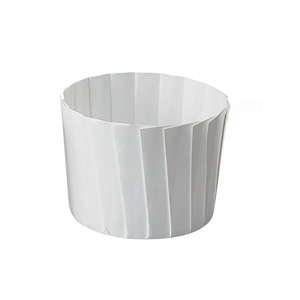 Welcome Home Brands Disposable Paper White Pleated Baking