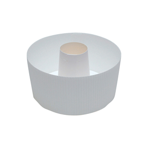 Welcome Home Brands Disposable Baker S White Tube Paper