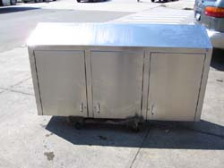 Stainless Steel Wall Cabinet Used Condition 66 X 13 36