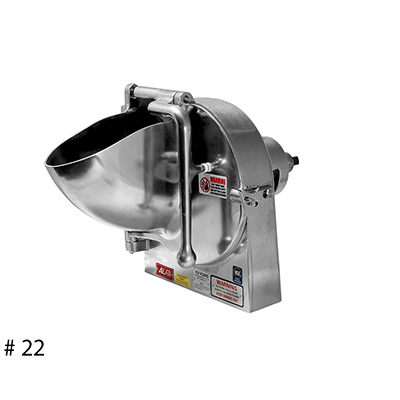 Alfa GS-22 Complete Grater/Shredder Attachment w/ 1 Disc of your choice (for #22 Hub) OEM # VS9-22