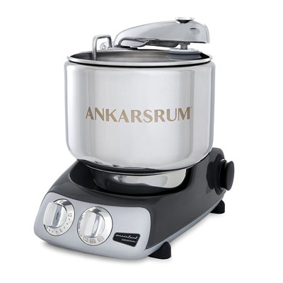 Ankarsrum AKM 6230 Electric Stand Mixer Color: Black Chrome