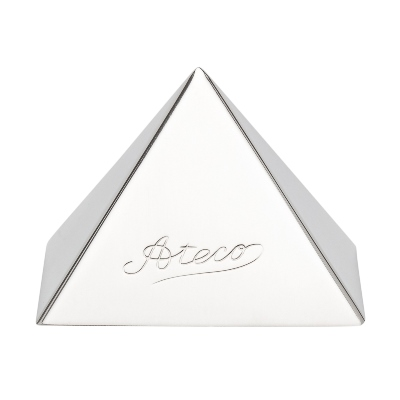 Ateco Pyramid Dessert Mold Stainless Steel, 2.25 Base x 1.50 high