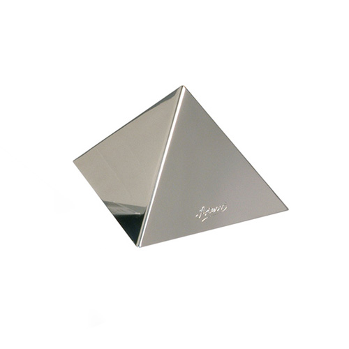 Ateco Pyramid Dessert Mold Stainless Steel, 4.75 Base x 3.25 high