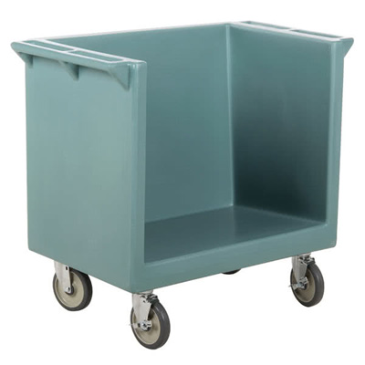 Cambro TDC2029401 Tray & Dish Cart: CART ONLY - Slate Blue