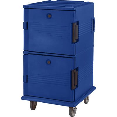 Cambro UPC1600186 Ultra Camcart for Food Pans - Navy Blue