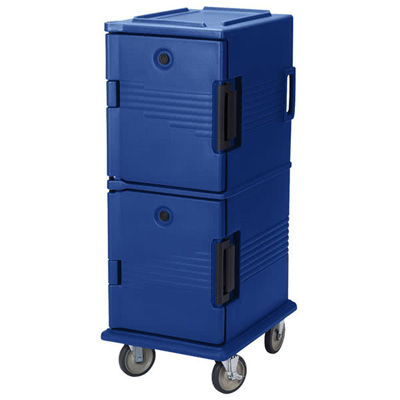 Cambro UPC800186 Ultra Camcart for Food Pans - Navy Blue