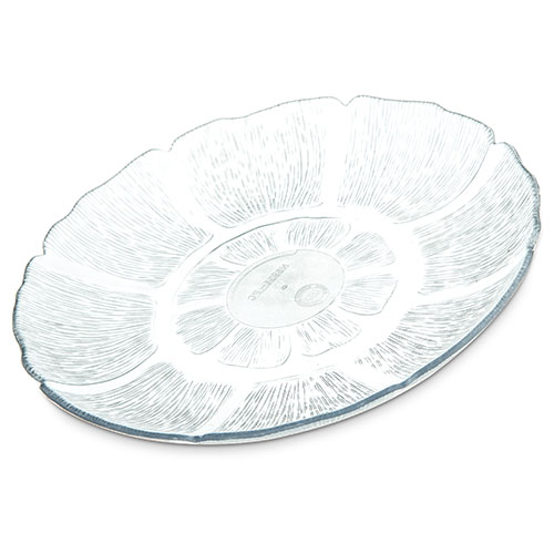 Carlisle Clear Petal Mist Plate 7-11/16 Clear - Case of 36