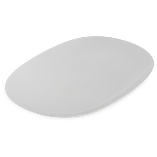 Carlisle Melamine Dinnerware Oblong Platters 14 x 10 White - Case of 12