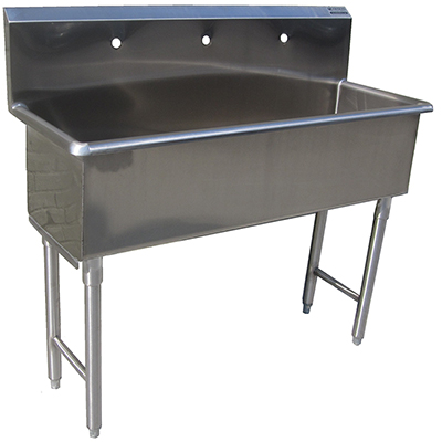 Custom Made Commercial Hand Sink Stainless Steel 4 Feet