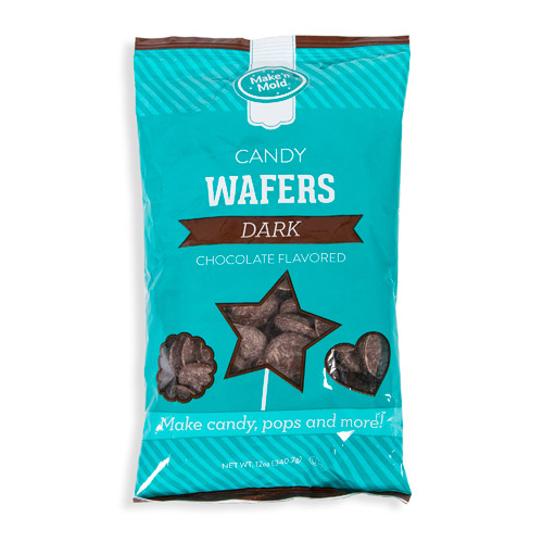 Dark Chocolate Flavored Candy Wafers, 2 lbs.
