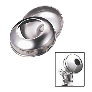 DeBuyer Confectionery Enrobing Panning  Attachment for Kitchenaid Mixer, Stainless Steel