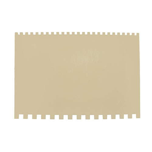 Decorating Comb, Poly, 6 x 4