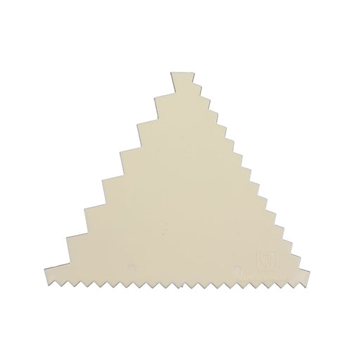 Decorating Comb Poly Triangle - 3 1/4