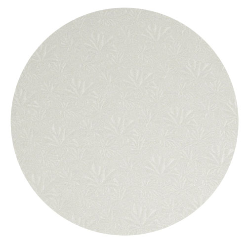 Round White Cake Drum Board, 14 x 1/2 High, Pack of 6