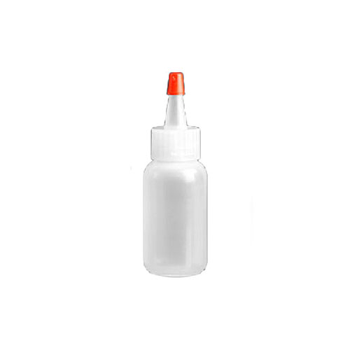Fine-Tip Squeeze Bottles with Cap, 1 Ounce Capacity - Pack of 12