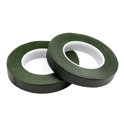 Floral Tape 1/2 Wide, Dark Green - Pack of 2