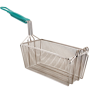 FMP Fry Basket 13-1/4 L x 6-1/2 W x 6 H with EZ Grip Handle