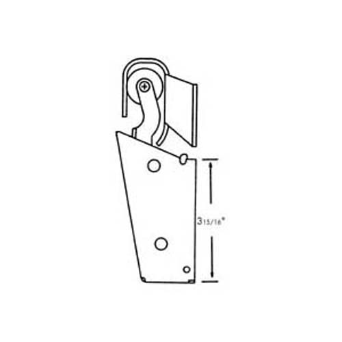FMP Hook, Door Closer (Flush Off Set)