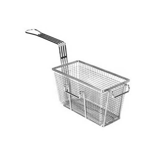FMP Standard Fry Basket 9-3/8 x 4-7/8 x 5-3/8: Twin, Front & Right Hooks