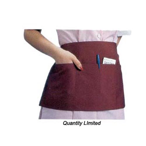 Front-of-the-House Apron- waist- Available in Burgundy only