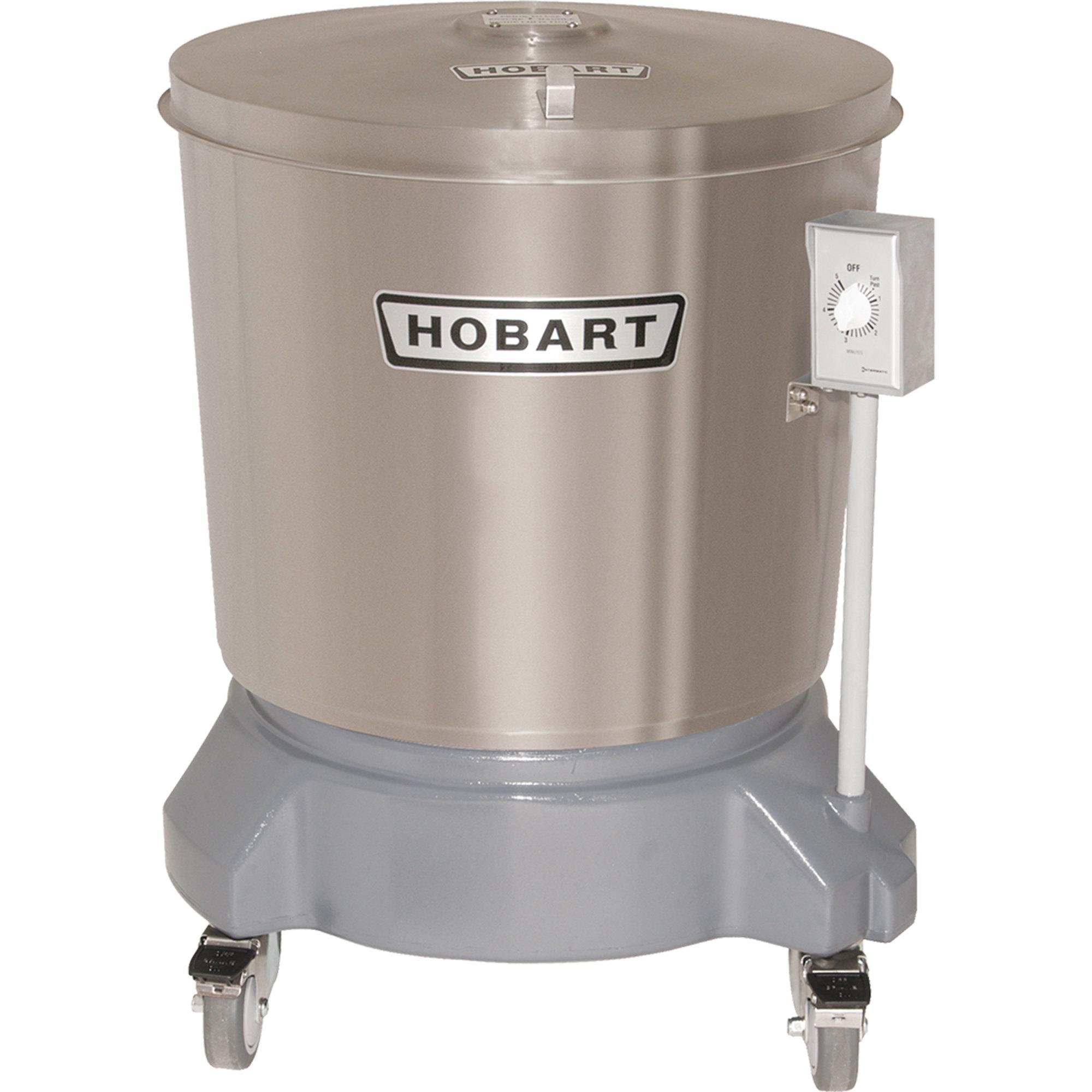 Hobart Sdps 11 20 Gallon Stainless Steel Salad Dryer Salad