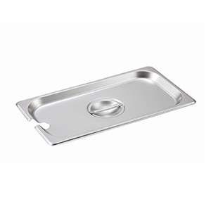 Lid for Steam-Table Pan: Third Size Slotted