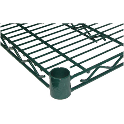 24 x 60 NSF Green Epoxy Wire Shelf